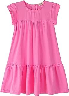 solid toddler dresses