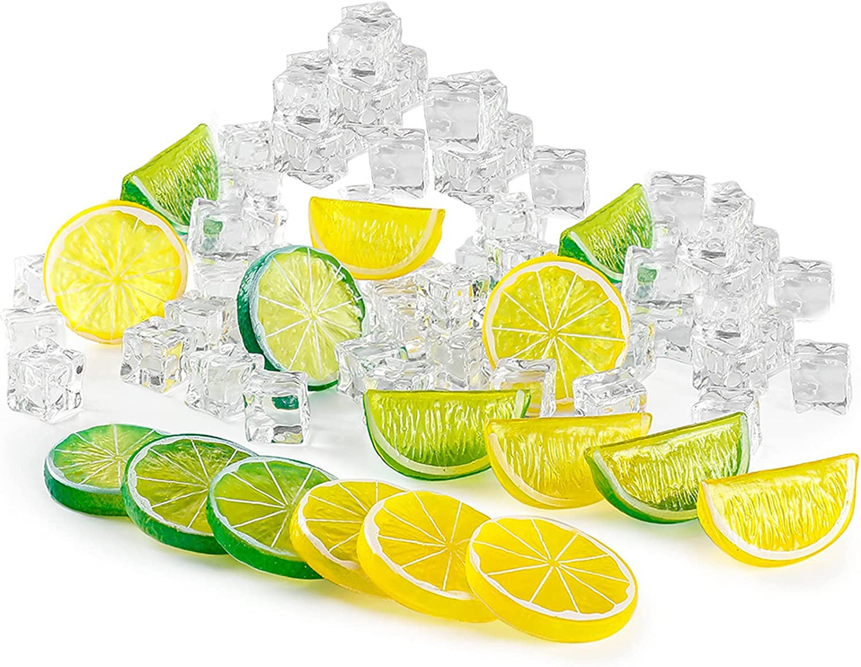 B bangcool 30Pcs Artificial Slices Seasonal Wrap Introduction Max 83% OFF Lemon Blocks Fake