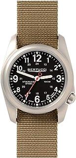 Bertucci A-2S Field Watch Black/SS-Khaki 11052
