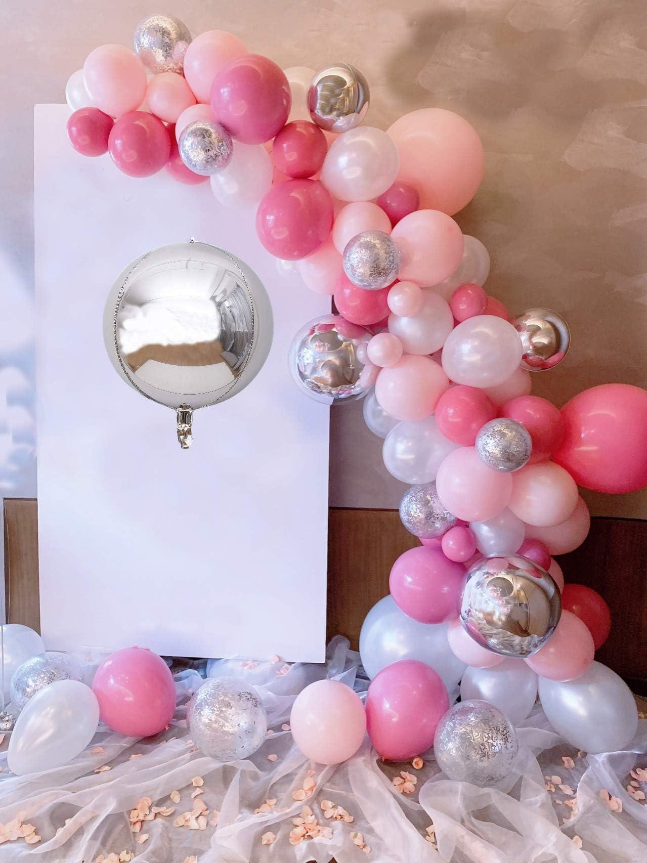 Balloon silver cord card