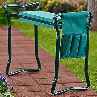 ZHAORU Folding Garden Kneeler Seat Garden Bench Stool with Handles, Protects Your Knees Outdoor Portable Kneeler for Garde...