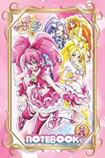 """Composition Notebook: Princess Pretty Cure Composition Notebook, Soft Glossy Wide Ruled Journal with lined Paper for Taking Notes, Writing Workbook ... Notebook (100 Pages, Lined Paper, 6""""x9"""")"""