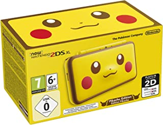 任天堂手持控制臺 - 新任天堂 2DS XL Nintendo 2DS XL + Pikachu Edition Pikachu Edition