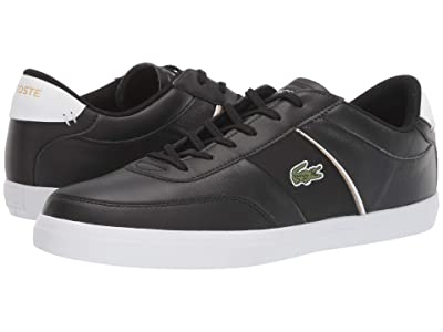 Lacoste Court-Master 319 6 (Black/White) Men