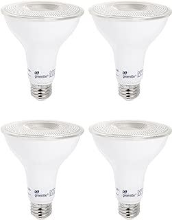 Indoor//Outdoor 120V Energy Star Certified 3000k Bright White UL Listed 11W 900 Lumens 4 Pack 75W Equivalent LED PAR30 Short Neck Dimmable Flood Light Bulb