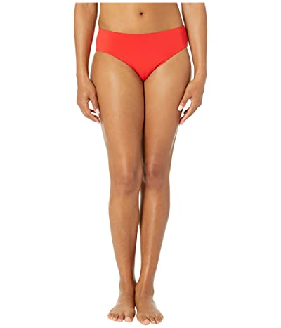 Robin Piccone Ava High-Waist Bottoms (Fiery Red) Women