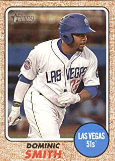 2017 Topps Heritage Minor League #179 Dominic Smith NM-MT