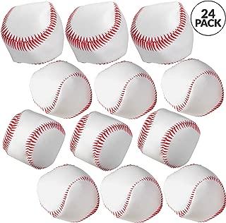 Bedwina Mini Soft Baseballs - Pack of 24 Bulk - 2