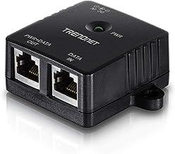 TRENDnet Gigabit Power Over Ethernet Injector, TPE-113GI, Full Duplex Gigabit Speeds,1 x Gigabit Ethernet Port, 1 x PoE Gi...
