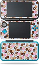 MightySkins Skin Compatible with Nintendo New 2DS XL - Donut Binge   Protective, Durable, and Unique Vinyl Decal wrap Cover   Easy to Apply, Remove, and Change Styles   Made in The USA