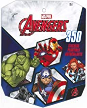 Avengers Marvel Sticker Book for Kids, Featured Incredible Hulk, Captain America, Iron Man, Thor, Black Widow, Hawkeye (Over 350 Stickers)-1 Pack