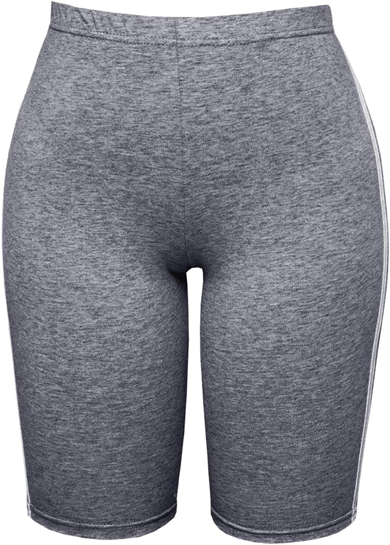 Be Jealous Women Cycling Shorts Side Stripe Hot Pants Shorts
