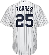 Outerstuff Gleyber Torres New York Yankees White Youth Cool Base Home Replica Jersey