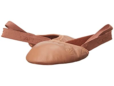 Capezio Kids Turning Pointe 55 H063C (Little Kid/Big Kid) (Dark Suntan) Girl