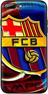 Barcelona case Phone for iPhone X XR XS max Cover Fashion Football Logo Barcelona sotf TPU case iPhone 7 8 Plus. (9, iPhone X)