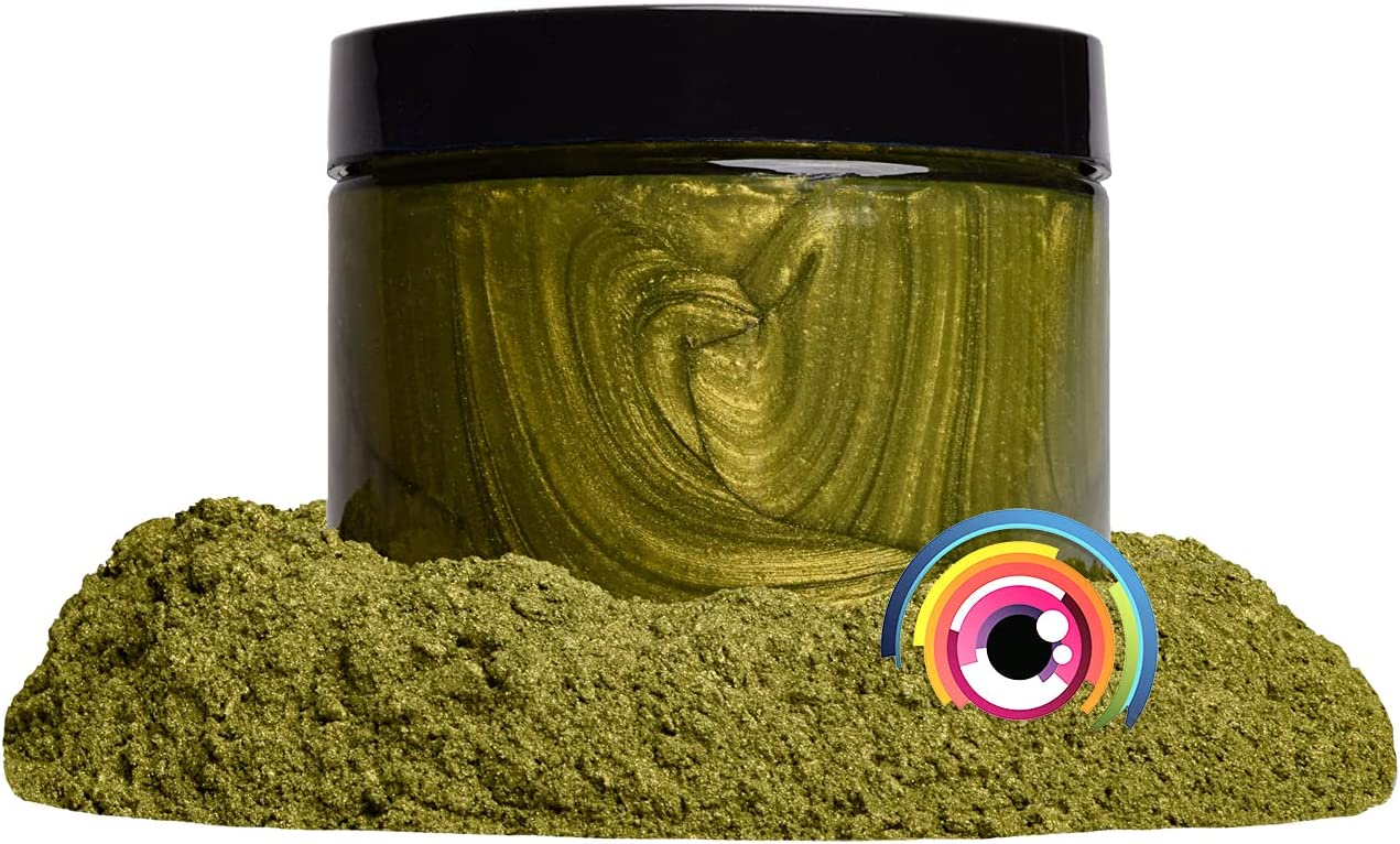 """Mica Powder Pigment """"Olive Yellow"""" DIY a Ranking integrated 1st place Multipurpose Limited price sale 50g Arts"""