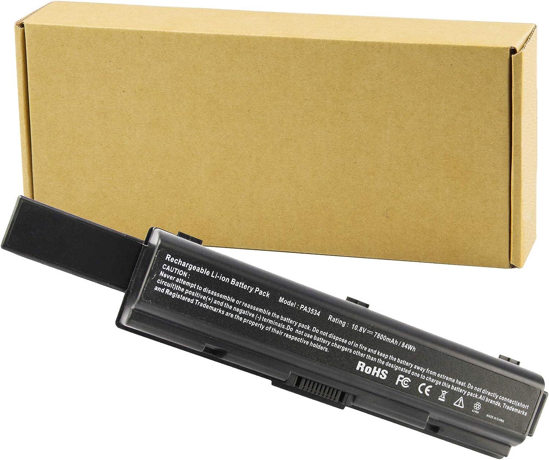Max 42% OFF Futurebatt 9 Cell 7800mAh Tucson Mall Laptop for Toshiba Battery PA3533U-1BR