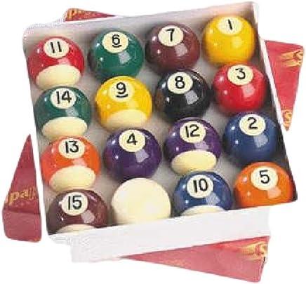 CreativeMindsUK Innen-Club Spiel Zubehör Pool & Billardtisch Solid & gestreift Ball Set 5,1 cm B01G6SV9FE    Schön und charmant