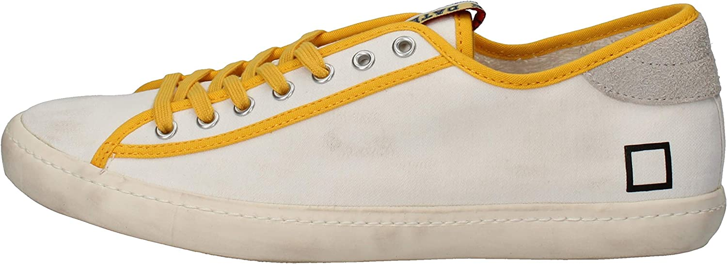 D.A.T.E. (DATE) Fashion-Sneakers Mens White