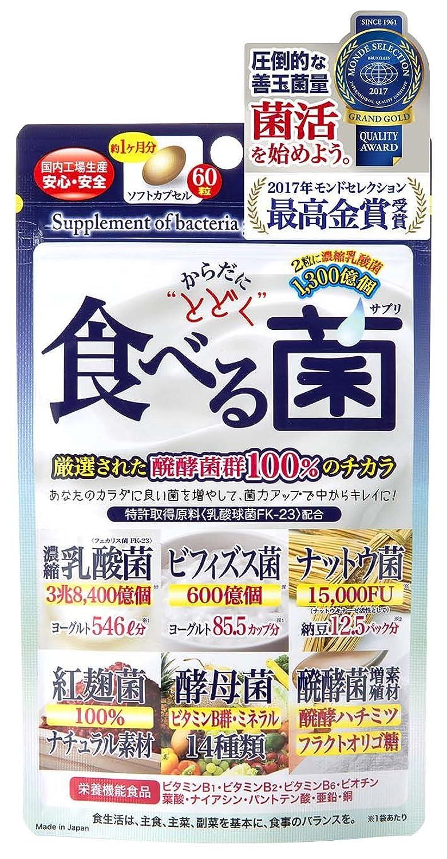 ジャパンギャルズ からだにとどく 食べる菌 460mg×60粒 ×3