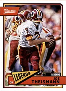 2018 Panini Classics #188 Joe Theismann Redskins Legend Football Card