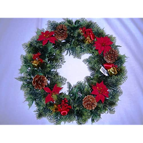 Fresh Christmas Wreaths.Fresh Christmas Wreaths Amazon Co Uk
