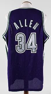 Ray Allen Authentic Jersey Milwaukee Bucks