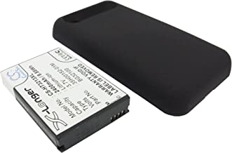 Battery Compatible with HTC Incredible S S710E, PG32130, S710E Incredible S, Rechargeable Replacement Cellphone Battery