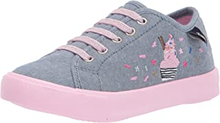 Joules Baby Girl's Coast Pump Canvas Trainer