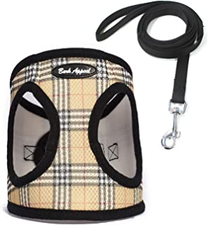 No Pull Dog Harness Large to Small Breed- Soft Step-In Dog Harness   Adjustable Padded Pet Vest Harness for Small Medium Large Dogs with Leash