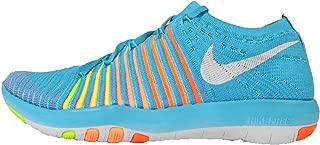 Womens Free Transform Flyknit Marathon Running Shoes (833410-400) Sz: 12 (9, GMM Blue/White-Total Orange-Punch Crimson)
