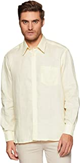 Colorplus Men's Solid Loose Fit Casual Shirt