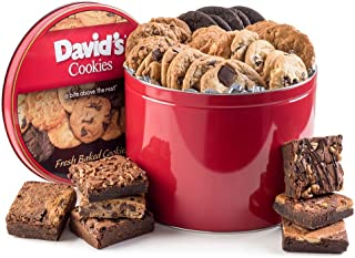 David's Cookies & Brownie Family Pack - 5 Lb. Gift Tin