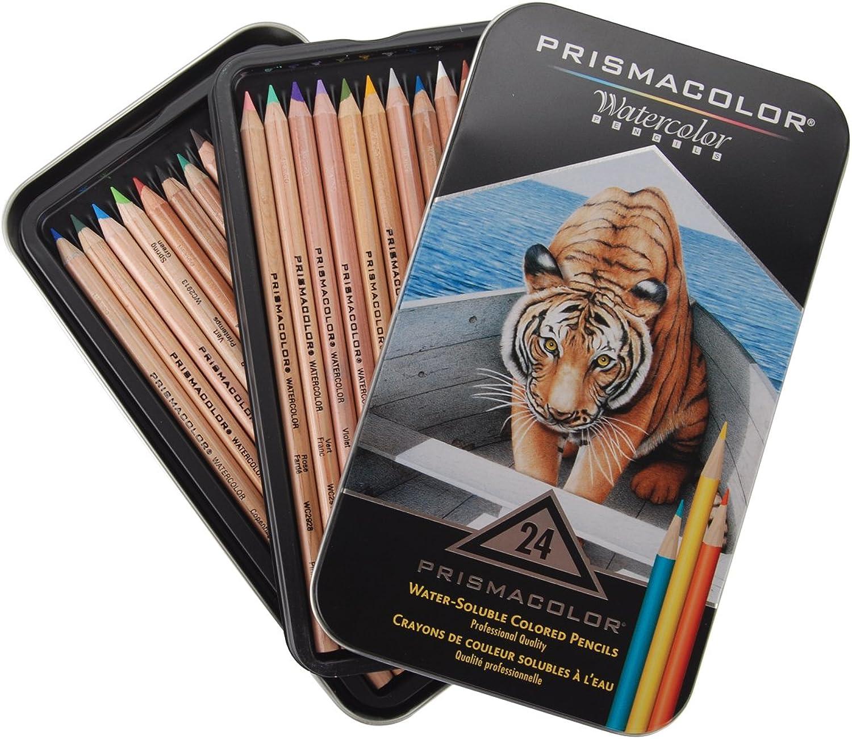 moda clasica PrismaColor WaterColor Pencils 24 Pkg- Pkg- Pkg-  tienda de venta