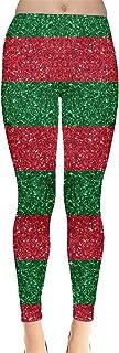 Womens Stretchy Tights Christmas Xmas Winter Snowman Santa Penguins Snowflakes Leggings, XS-5XL