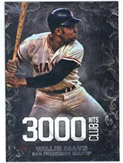 2016 Update 3000 Hits #3000H-7 Willie Mays Giants