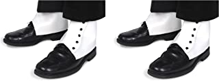 Beistle 60055 2 Pairs Spats, White