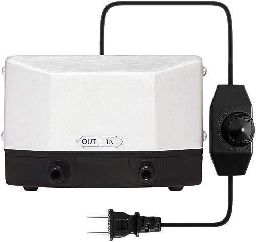 wholesale VIVOSUN 285 GPH Air 2021 Pump online 9.5W 4 Outlet 18 Liter/Min for Aquarium and Hydroponic Systems outlet sale