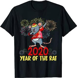 Year Of The Rat Happy Chinese New Year 2020 Dabbing T-Shirt
