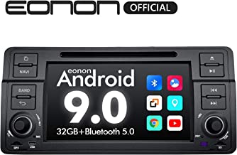 Car Stereo CarRadio, Eonon 7 Inch Android 9.0 Car Radio, 32GB ROM GPS Navigation for Car Support Android Auto/Apple Carplay/Bluetooth 5.0/WiFi/Fast Boot/DVR/Backup Camera/OBDII-GA9350