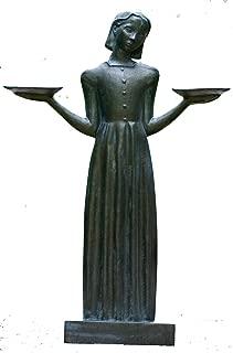 Bird Girl Large with Pedestal
