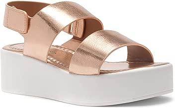Herstyle Belma Women's Open Toe Ankle Strap Platform Wedge Sandals