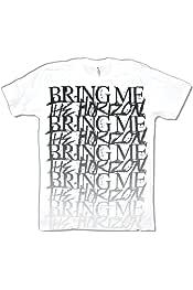 Bring Me The Horizon Umbrella Rain Black Jersey Raglan Shirt New Official BMTH