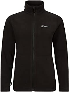 Berghaus Women's Prism Polartec Interactive Fleece Jacket, Black/Black