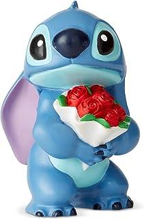 Disney 6002186 Showcase Stitch Flowers Figurine