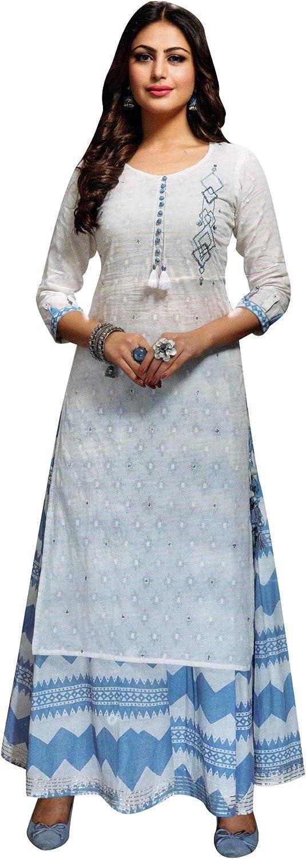 ladyline Reservation Kurtis with Skirt for Women Designer Embroidered Kurta Popular brand in the world