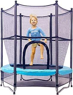 トランポリン 室内 屋外【140㎝ ネットと補助脚セット】 子供 庭 遊具 運動 バンド 静穏 体幹 全身 トレーニング Jump Tastic