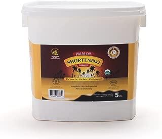 Grain Brain Organic Palm Shortening (5 lb )Pure and Natural, Super