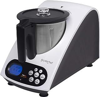 comprar comparacion Superchef Robot de Cocina VA1500 Cook&MIx, 1100w+500w, jarra de 2 litros de capacidad real, 10 velocidades, de 40º a 110º