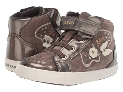Geox Kids Kilwi 62 (Toddler) (Smoke Grey) Girls Shoes